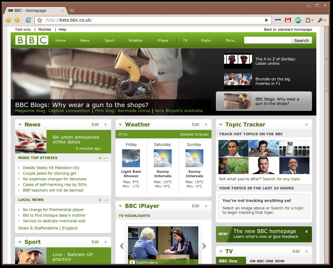 new bbc web design rapid web ltd. Black Bedroom Furniture Sets. Home Design Ideas