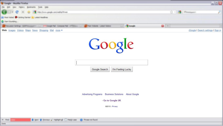 Google\'s New Web Design - Rapid Web Ltd