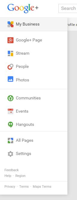 Accessing Google Plus analytics