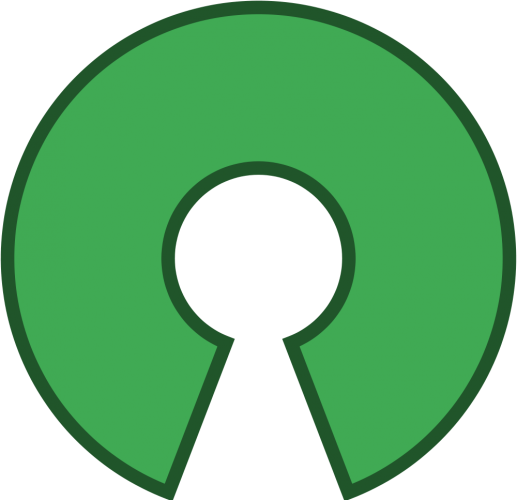 Open source software logo