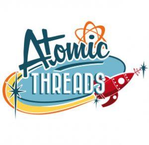 Atomic Threads Logo Branding