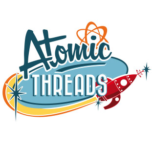Atomic Threads Logo Branding