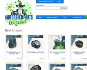 A New Arrivals page allows customers to see how often the website is updated with new products.